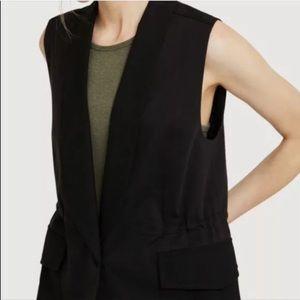Kit & Ace Sz 6 In the Field Black Coat Vest